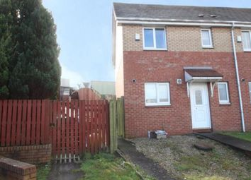 Thumbnail 3 bedroom end terrace house for sale in Strachur Crescent, Glasgow, Lanarkshire