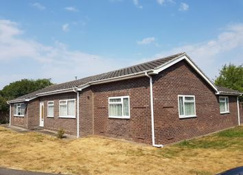 Thumbnail 4 bedroom detached bungalow to rent in Hallfields, Lakenheath