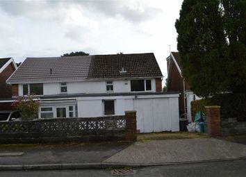 Thumbnail 3 bedroom semi-detached house for sale in Lon Masarn, Swansea