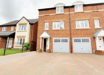 Thumbnail 3 bed town house for sale in Prospect Place, Coxhoe, Durham