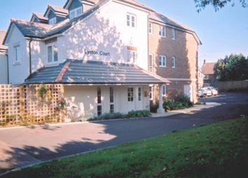 Thumbnail 1 bed flat for sale in Lynton Court, Epsom