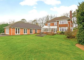 Thumbnail 4 bed detached house for sale in Longdown Road, Lower Bourne, Farnham, Surrey