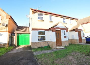 Thumbnail 3 bed semi-detached house for sale in The Nightingales, Staines Upon Thames, Surrey