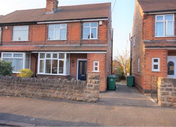 Thumbnail 3 bedroom semi-detached house for sale in Bannerman Road, Nottingham