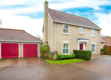 Thumbnail 4 bed detached house for sale in Warren Close, Wilburton, Ely, Cambridgeshire