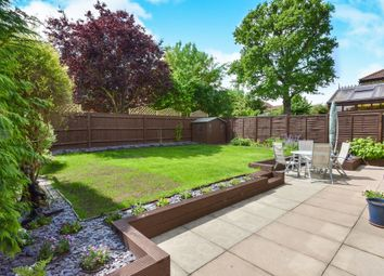 Thumbnail 4 bed detached house for sale in Cranwell Close, Shenley Brook End, Milton Keynes
