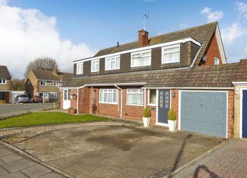 Thumbnail 3 bed semi-detached house for sale in Redfield Close, Dunstable