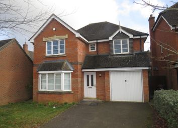 Thumbnail 4 bed detached house to rent in The Meadows, Grange Park, Northampton
