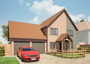 Barton House, One Elvington Lane, Hawkinge CT18. 4 bed detached house for sale