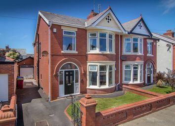 Thumbnail 4 bed semi-detached house for sale in Gosforth Avenue, Blackpool