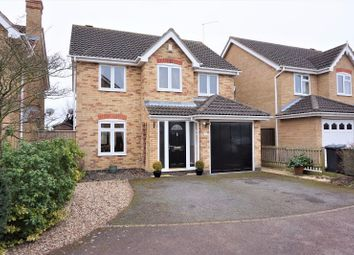 Thumbnail 4 bed detached house for sale in Church View, Peterborough