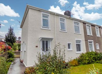 Thumbnail 3 bed semi-detached house for sale in Heol Ganol, Sarn, Bridgend .