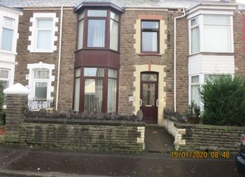 Thumbnail 4 bed terraced house for sale in Tanygroes Street, Port Talbot