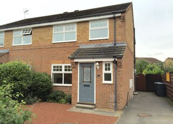 Thumbnail 3 bed semi-detached house to rent in Whiteoak Avenue, Easingwold, York