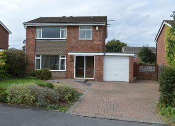 Thumbnail 3 bed detached house for sale in Canterbury Drive, Washingborough, Lincoln
