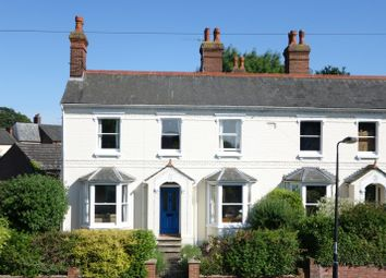 Thumbnail 3 bed end terrace house for sale in Albert Crescent, Bury St. Edmunds