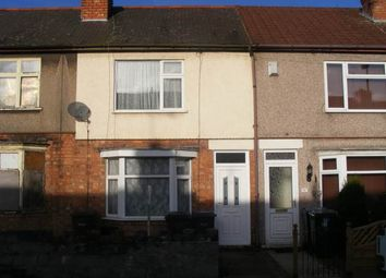 Thumbnail 2 bed terraced house to rent in Arbury Avenue, Foleshill, Coventry