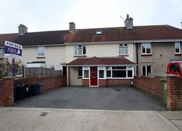 Thumbnail 4 bed terraced house for sale in Medina Road, Cosham, Portsmouth, Hampshire