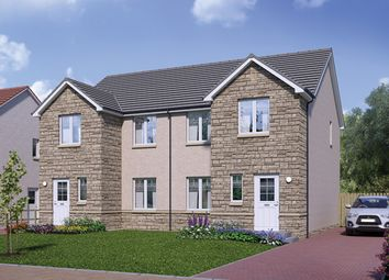 Thumbnail 3 bed semi-detached house for sale in Off East Stirling Street, Alva, Clackmannanshire
