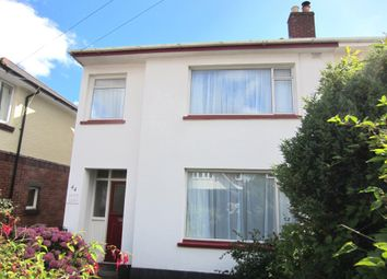Thumbnail 4 bed semi-detached house to rent in Kennerley Avenue, Exeter
