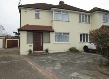 Thumbnail 3 bed property for sale in Rosebank Avenue, Hornchurch, London