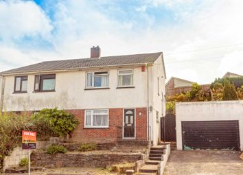 Thumbnail 3 bed semi-detached house for sale in Stanborough Road, Plymstock