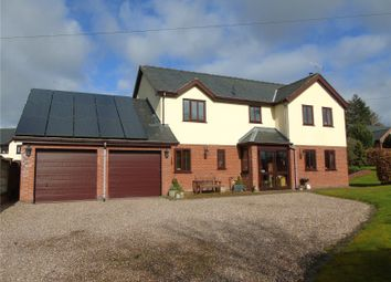 Thumbnail 4 bed detached house for sale in Pontrobert, Meifod, Powys