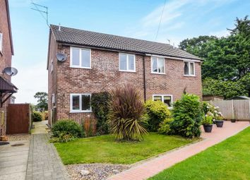 Thumbnail 3 bed semi-detached house for sale in Ellis Close, Stalham, Norwich