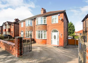 Thumbnail 3 bed semi-detached house for sale in Reddish Road, South Reddish, Stockport, Cheshire