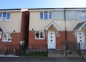Thumbnail 2 bedroom end terrace house for sale in Hackett Drive, Dudley
