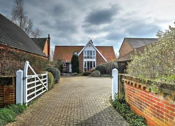 Thumbnail 4 bedroom detached house for sale in The Street, Beccles