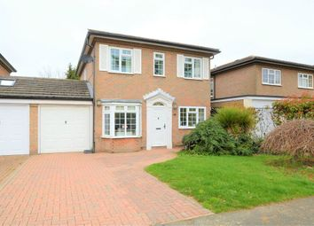 Thumbnail 4 bed detached house for sale in Rembrandt Way, Walton-On-Thames, Surrey