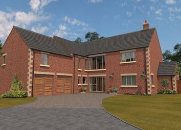 Thumbnail 5 bed detached house for sale in Willow Brook, Harlaxton, Grantham