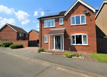 Thumbnail 4 bed detached house for sale in Allington Drive, Great Coates, Grimsby