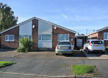Thumbnail 2 bed semi-detached bungalow for sale in Coleman Road, Fleckney, Leicester