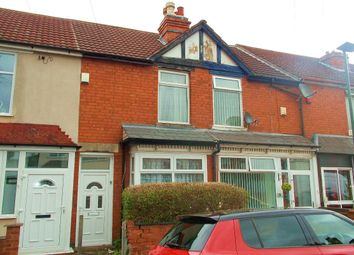Thumbnail 2 bed terraced house to rent in Winstanley Road, Stechford, Birmingham