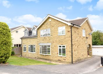 Thumbnail 5 bedroom detached house for sale in Syke Green, Scarcroft, Leeds