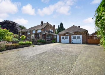 Thumbnail 4 bed detached house for sale in Crowhurst Lane, West Kingsdown, Sevenoaks, Kent