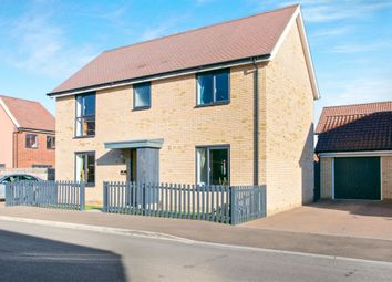 Thumbnail 4 bedroom detached house for sale in Vickers Way, Upper Cambourne, Cambridge
