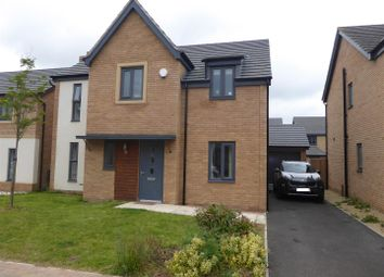 Thumbnail 4 bed detached house for sale in Bayleaf Avenue, Hampton Vale, Peterborough