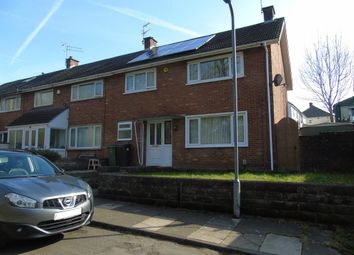 Thumbnail 3 bedroom end terrace house for sale in Sylvan Close, Fairwater, Cardiff