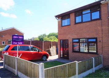 Thumbnail 3 bed semi-detached house for sale in Brecon Drive, Wigan