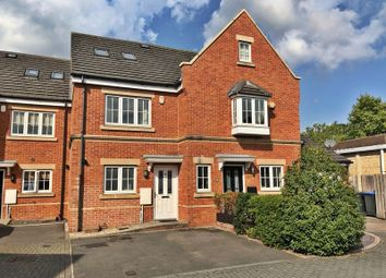 Thumbnail 3 bed terraced house to rent in Derisley Close, Byfleet, West Byfleet