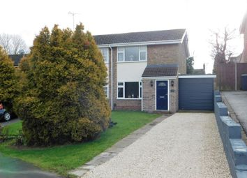Thumbnail 2 bed semi-detached house for sale in Swallow Dale, Thringstone, Coalville