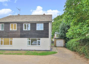 Thumbnail 3 bed semi-detached house for sale in Norman Court, Hemingford Grey, Huntingdon