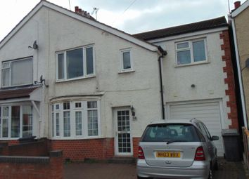 Thumbnail 4 bed semi-detached house to rent in Roseneath Avenue, Leicester