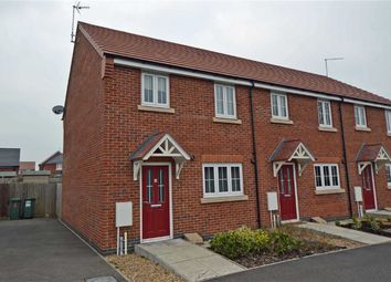 Thumbnail 3 bed town house for sale in Barr Close, Enderby, Leicester