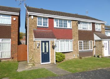 Thumbnail 3 bed semi-detached house for sale in Sunbower Avenue, Dunstable