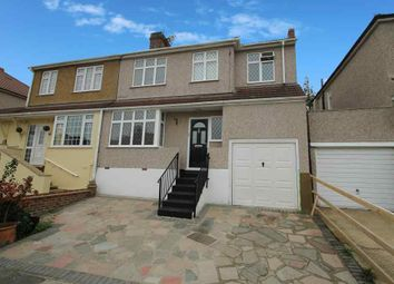 Thumbnail 4 bed semi-detached house for sale in Iris Crescent, Bexleyheath