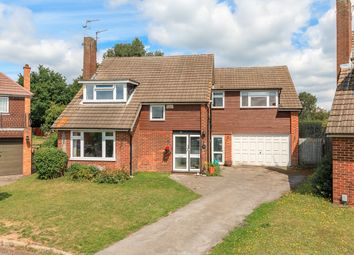 Thumbnail 5 bedroom detached house for sale in Warwick Close, Hertford